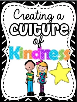 Free Version: Kindness in the classroom (character education)