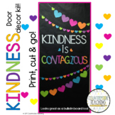 February Door Decoration Kit - Kindness is Contagious - February Bulletin Board