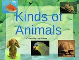 Kinds of Animals Power Point Presentation