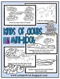 Kinds of Clouds Mini Book (Emergent Reader)