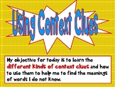 Common Core Kinds of Context Clues Interactive PPT CCSS Gr
