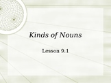 Kinds of Nouns Interactive Powerpoint Lesson