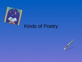 Kinds of Poetry - Reading and Writing Poetry