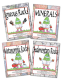 Kinds of Rocks Memory Games: A Great Way to Review Science