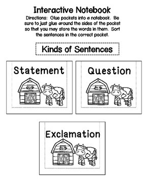 Kinds of Sentences ELA Center