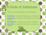 Kinds of Sentences, CCS1.L.1
