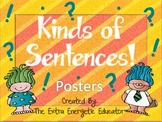 Kinds of Sentences Posters