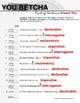Kinds of Sentences Practice Game: You Betcha!
