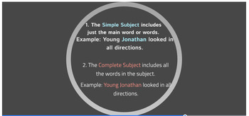 Kinds of Sentences; Subjects & Predicates Prezi Presentation