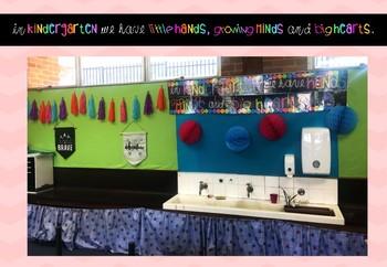 Kindy Classroom Banner Freebie