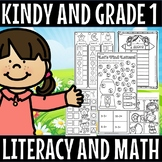 Kindy and grade 1  literacy and math(50% off for 24 hours)