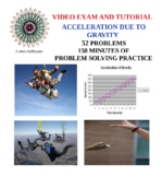 Acceleration Due to Gravity Problem Solving Video Exam and