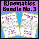 Kinematics Bundle No. 3: Position & Velocity vs Time Graphs