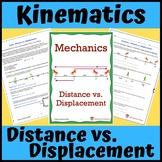 Kinematics: Distance vs. Displacement