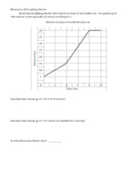 Kinematics & Graphing - Review