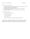 Kinematics & Newton's Laws - Free Fall Activity
