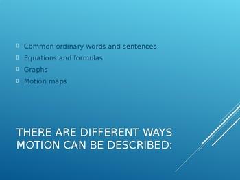 Kinematics PowerPoint Presentation