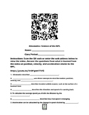 Kinematics-Science of the NFL QR Code Video Worksheet