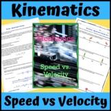 Kinematics: Speed vs. Velocity