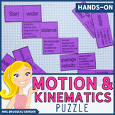 Motion and Kinematics Terms Domino Puzzle - Physics Vocabulary