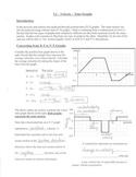 Kinematics Velocity-Time Graphs