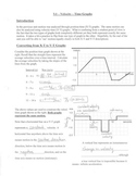 Kinematics Velocity-Time Graphs