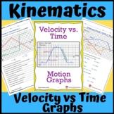 Kinematics: Velocity vs Time Graphs
