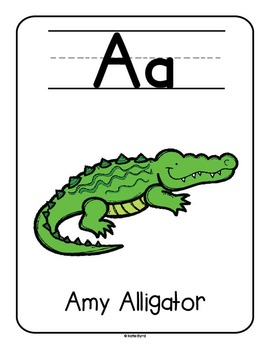 Kinesthetic Alphabet - Posters for teaching Letters and Sounds
