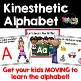 Kinesthetic Alphabet PowerPoints