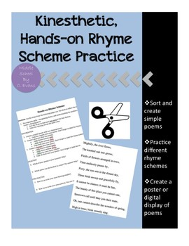 Kinesthetic, Hands-on Rhyme Scheme