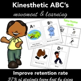 Kinesthetic Letters of the Alphabet  Activity for Struggli