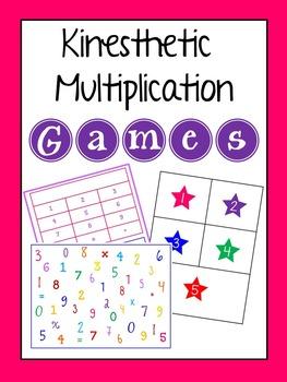 Kinesthetic Multiplication Games