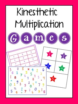 Kinesthetic Multiplication Games