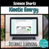 Kinetic Energy Digital Reading Comprehension Passage