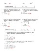 Kinetic Energy and Potential Energy Practice Problems (Worksheet or Quiz)