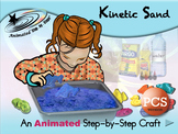 Kinetic Sand - Animated Step-by-Step Craft - PCS