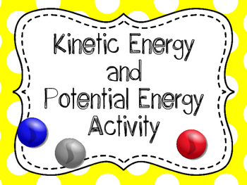 Kinetic and Potential Energy Investigation, Kinetic and Potential Energy Lab