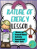 Kinetic and Potential Energy Lesson- Energy Unit