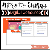 Kinetic and Potential Energy Digital Resource