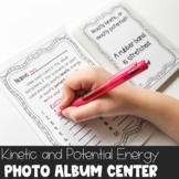 Kinetic and Potential Energy Photo Album Center