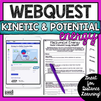 Kinetic and Potential Energy Webquest Activity