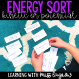 Kinetic and Potential Energy of Motion Sort Activity