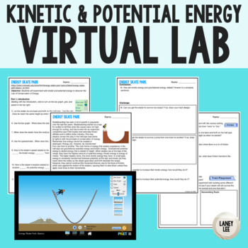 Kinetic vs. Potential Energy Online Lab and Inquiry Activity