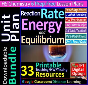 Kinetics, Equilibrium, Rate, Entropy Topic Bundle: 4 ...