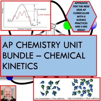 Kinetics Unit Bundle - for AP chemistry classes