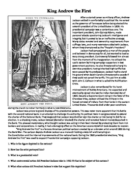 King Andrew (Jackson)