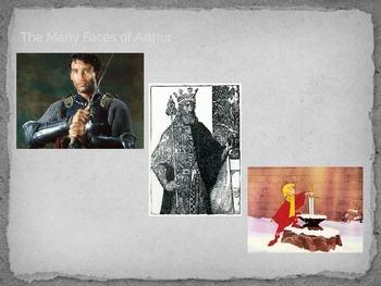 King Arthur: Myths and Legends PowerPoint