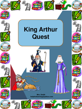 Unit: King Arthur Quest: Stand Alone or Background Knowledge: Freak the Mighty