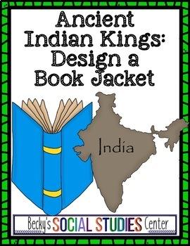 King Ashoka Project - Mauryan Empire (Ancient India) - Biography Jacket Cover