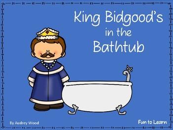 King Bidgood's in the Bathtub ~ 32 pgs of Common Core Activities